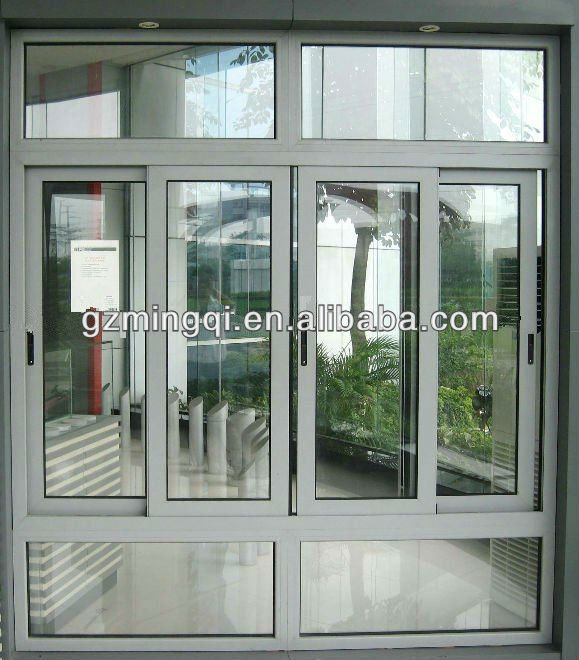 Hot sell aluminium window frame design for house aluminium for Latest window designs