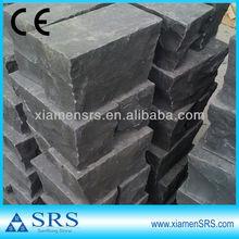 CE dark grey cheap paving stone