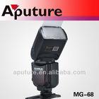 Aputure MG-68 LCD display flash speedlite for most dslr cameras