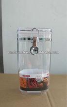 plastic food container;plastic airtight box