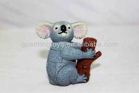 plastic pvc animal toy/OEM plastic animal bear figure