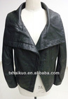 2012-2013 always classical new fashion real leather jacket black