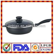 die-cast aluminum deep fry pan