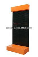 perforated supermarket shelf dislay rack exhibition HSX-shelf dislay-100129