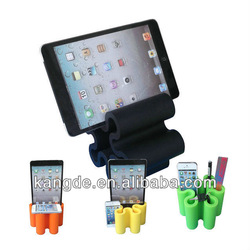tablet holder, silicone holder for tablet PC,multifuction