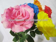 2014 Newest Home Decorative PU artificial rose flower