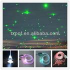 Hotel lobby decoration,plastic optical led fiber starry kits