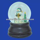 unique snowman decoration christmas snowball