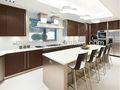 Melhor - vender branco puro cristal vidro da bancada da cozinha