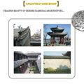 traditionnels de haute qualité excellente clay toit de tuiles antiques à vendre pour la construction