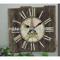 retro de madera reloj de artesanía