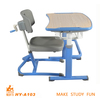 classroom furniture kids study table with chair
