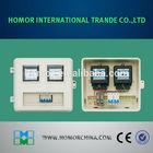 DLBX-W2 Waterproof fiberglass white round electrical meter box cover