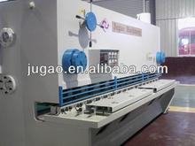 QC11K-55X5000 metal sheet hydraulic shearing guillotine type machine