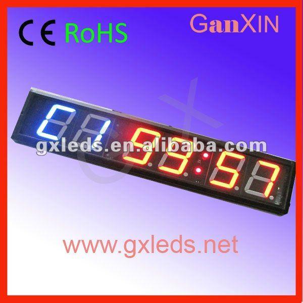 4inch 6digits GYM crossfit timer, c# timer interval