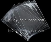 Transparent opp/pp kunststoff packtasche mit klebstoff