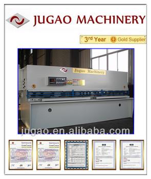 JUGAO Metal sheet QC12Y-45X5000 hydraulic shearing guillotine shear