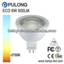COB led spot mr16 6W 550Lm replace 50w halogen