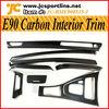 E90 Carbon Fiber Interior Trim For BMW E90 LHD