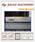 JUGAO Metal sheet QC12K-60X11000 Power Hydraulic guillotine shearing machine