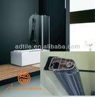 bath sets shower screen and bathtub 120*150cm
