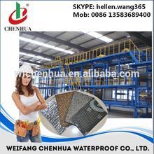 SBS APP modified bituminous waterproof membrane production line