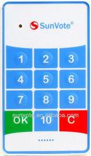 SunVote interactive voting machine