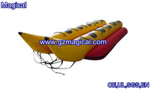 Attractive inflatable double banana boat