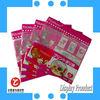 Gravure Printing Laminated Material Resealable Poly Bags