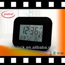 YD8201C black 6 inch wall clock