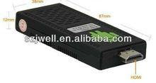 Dual ARM Mini TV Box UG802 Arm Cortex A9 Android Media Player Google TV Box