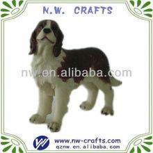 Resin animal figurine dog