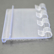 plate label holder Plastic strip