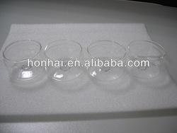 high quality mouth blown borosilicate glass cruet