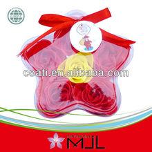 6PCS pretty rose soap petal confetti in PVC box