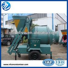 concrete mixer JZC series of capacity 10-35 cubic meters per hour