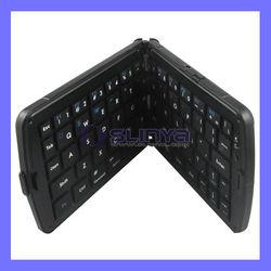 Ultra Mini Wireless Foldable Bluetooth Keyboard For iPad 4 Fold Key