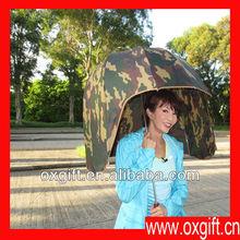 OXGIFT The safety hats modeling sunny umbrella