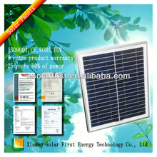 20W Poly Solar Panel With Hight Quality Make By Manufacturers In China