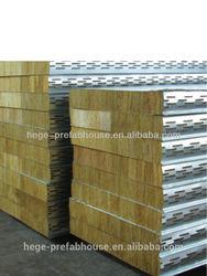 china ROCK WOOL steel Sandwich Panel