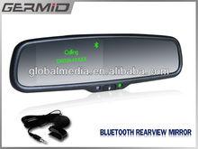 """4.3 """" TFT LCD Monitor Bluetooth espelho retrovisor do carro câmera de segurança + agenda"""