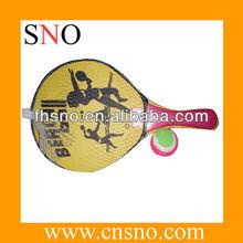 wooden best beach racket