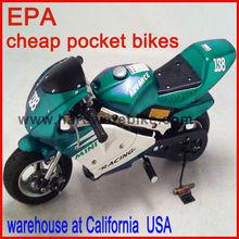 gas 50cc pocket bikes for sale (HDGS-801)