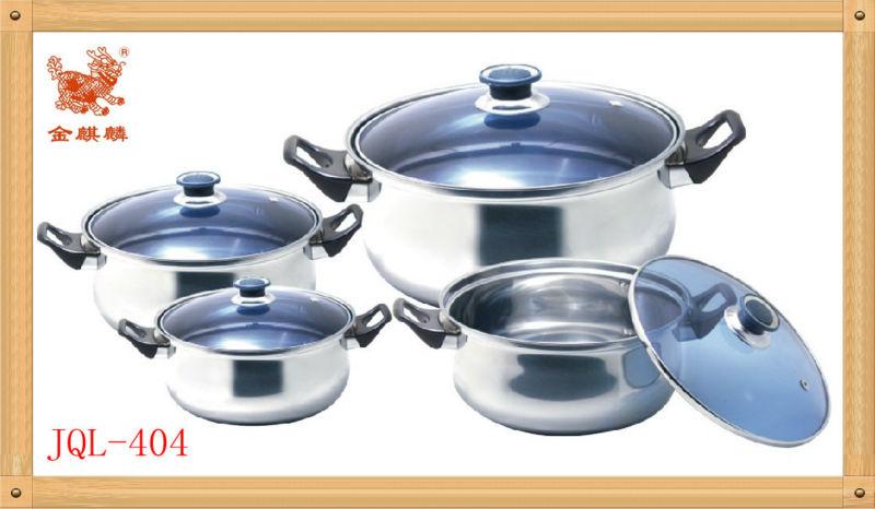 stainless steel pot set(JQL-437)