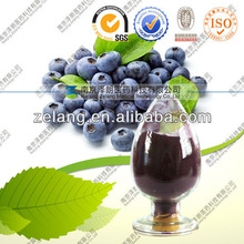 Natural Bilberry Extract Anthocyanin 25% by HPLC