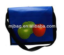 Royal blue tarpaulin shoulder Bag/Messenger Leisure Bag