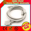 VGA cable monitor kabel male to male Nickel plated two ferrite cores