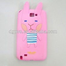 cute rabbit ,silicon mobile phone case, for nokia lumia 800 tpu cover case