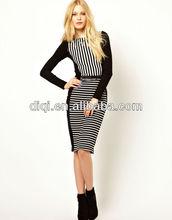latest fashion dress design hot sell office wear dress