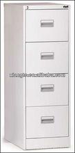 customized cheap white 4-drawer metal file cabinet, steel filing locker